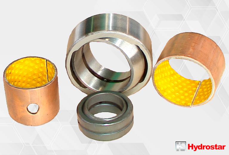 Hydraulic cylinders bearings